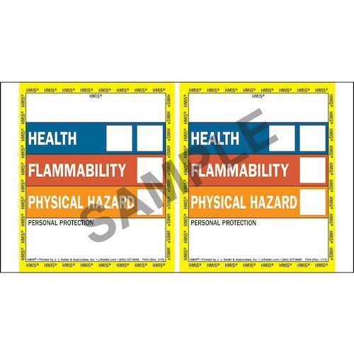 HMIS® III Labels - Pin-Feed (01872)