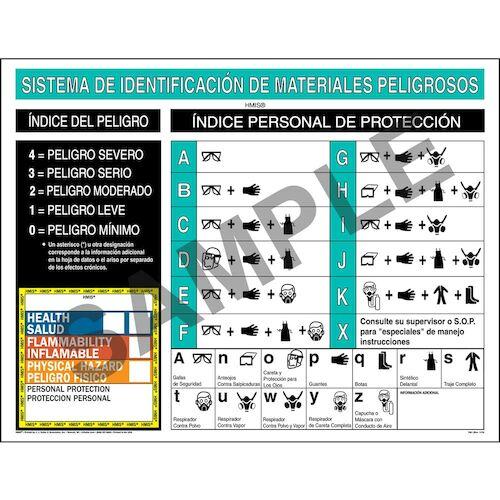 HMIS® III Wall Poster - Spanish (01891)