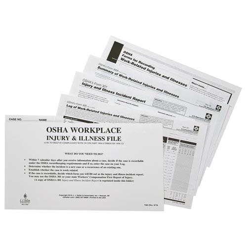OSHA 300 Forms Kit (01885)