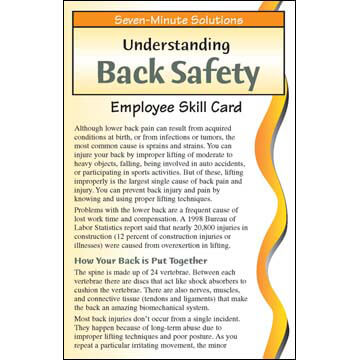 7-Minute Solutions for Construction - Skill Card (03274)
