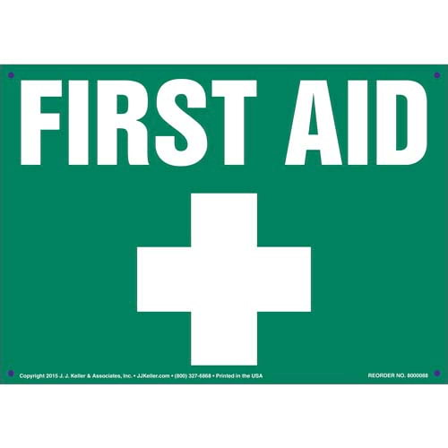 First Aid Sign (09893)