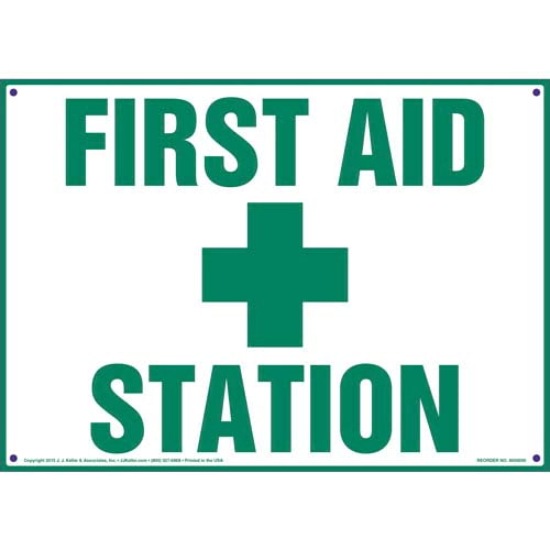 First Aid Station Sign (09895)