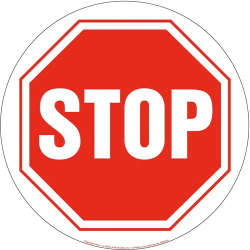 Stop Sign (09981)