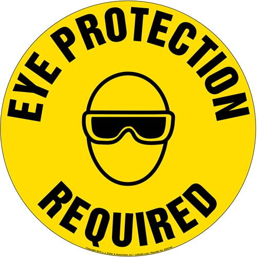 Eye Protection Required Sign (09989)