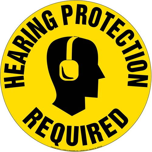 Hearing Protection Required Sign (09991)