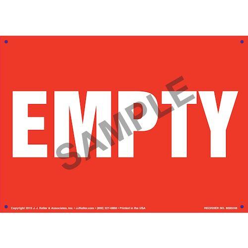 Empty Sign (010053)