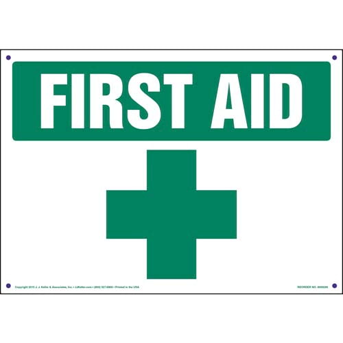 First Aid Sign (010090)