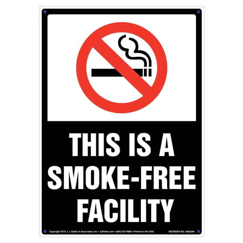 This Is a Smoke-Free Facility Sign (010104)
