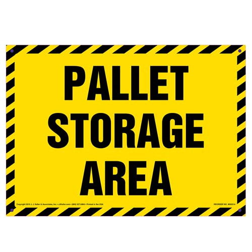 Pallet Storage Area Sign (010119)