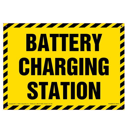 Battery Charging Station Sign (010121)