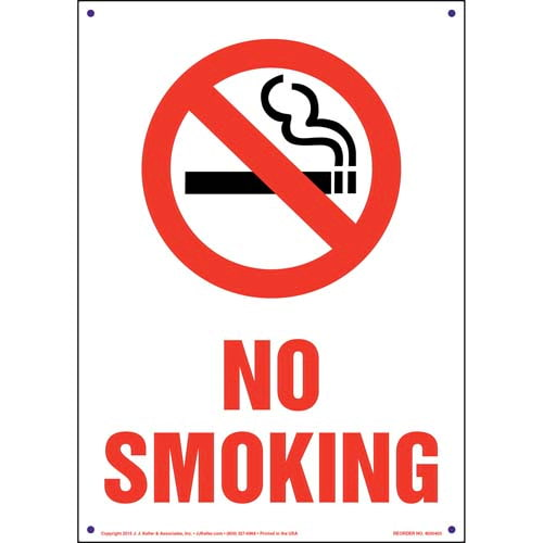 Pennsylvania: No Smoking Sign (011541)