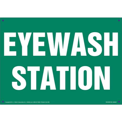 Eye Wash Station Sign (011736)
