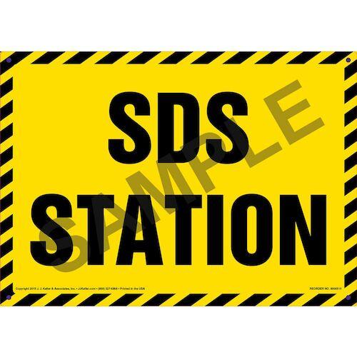 SDS Station Sign (011744)