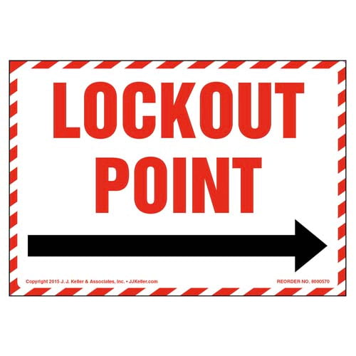 Lockout Point For _ Label (011799)