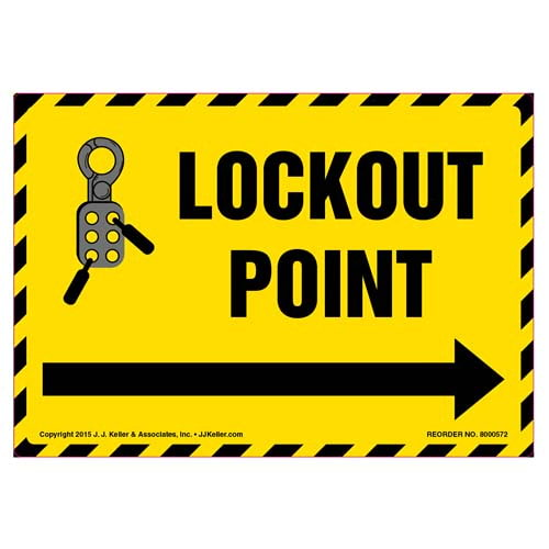 Lockout Point Label (011801)