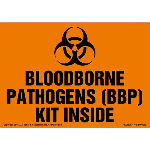 Bloodborne Pathogens (BBP) Kit Inside Label (011811)