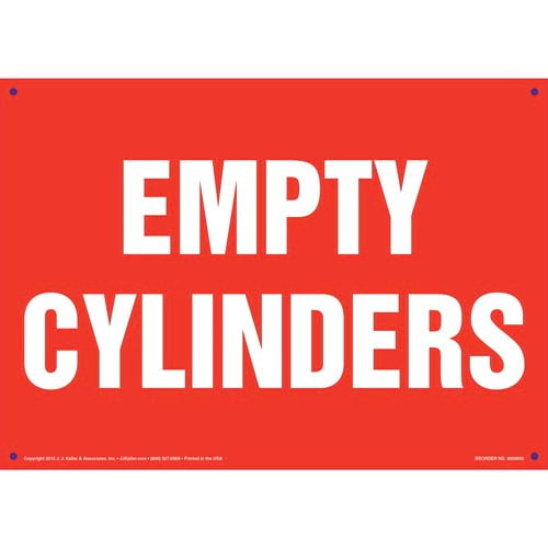 Empty Cylinders Sign (011824)