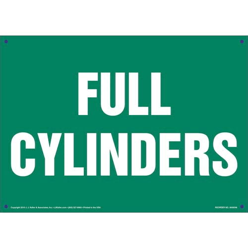 Full Cylinders Sign (011825)