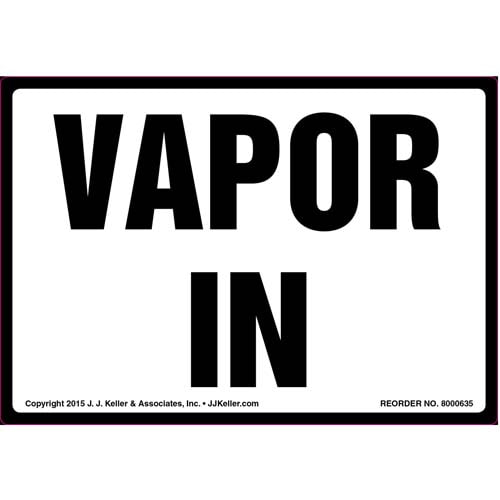 Vapor In Label (011864)
