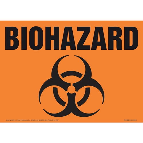 Biohazard Sign with Icon (011916)
