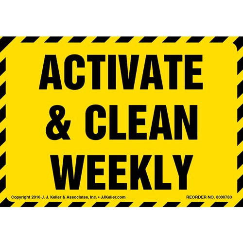Activate & Clean Weekly Label (012015)