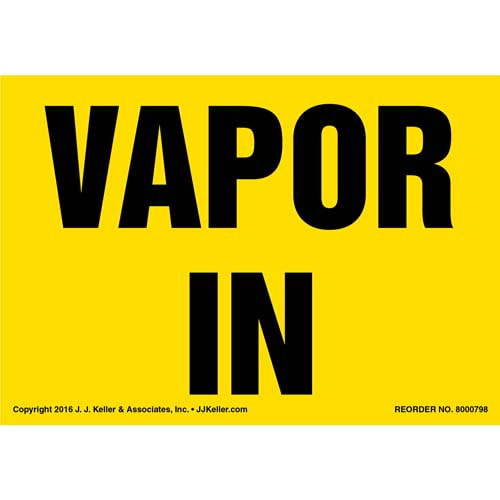 Vapor In Label - Yellow (012033)
