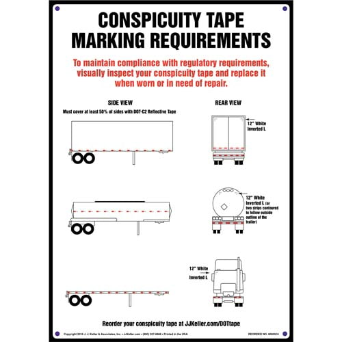 Conspicuity Tape Marking Requirements Sign (010818)