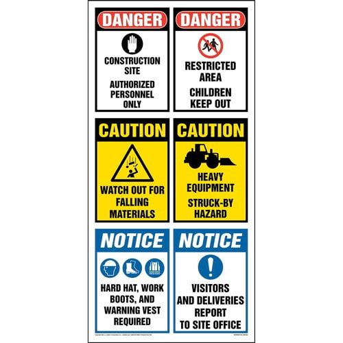 Site Board™ Construction Sign - OSHA (012980)