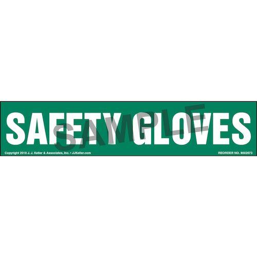 Safety Gloves Label (014225)