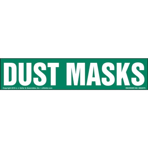 Dust Mask Label (014231)