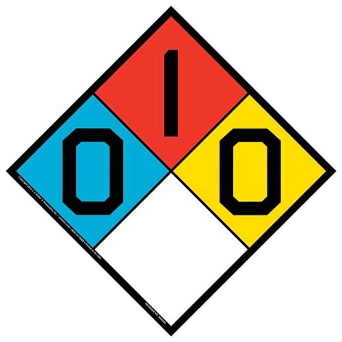 0-1-0 Sign - NFPA (014749)