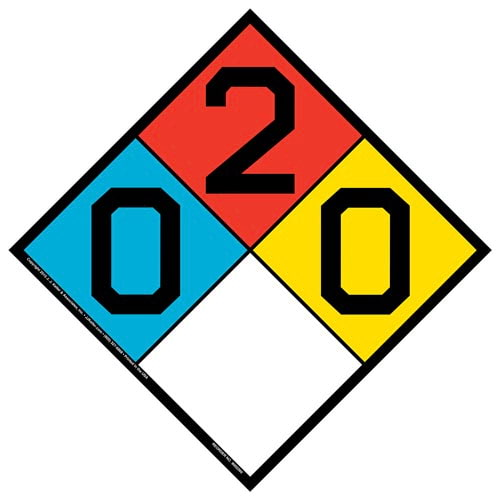 0-2-0 Sign - NFPA (014750)