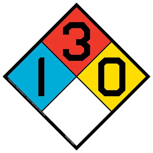 1-3-0 Sign - NFPA (014752)