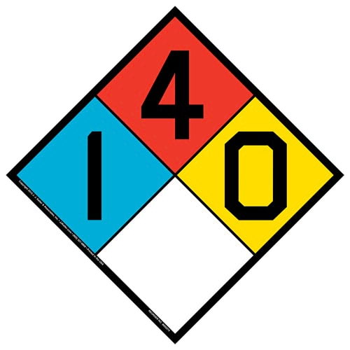 1-4-0 Sign - NFPA (014753)