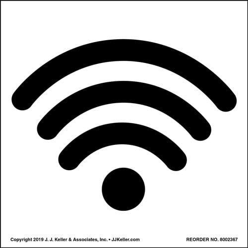 WIFI Icon Label (010123)