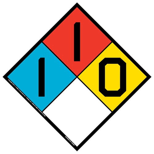 1-1-0 Sign - NFPA (017249)