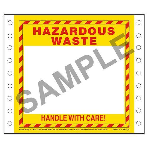Hazardous Waste Labels (03152)
