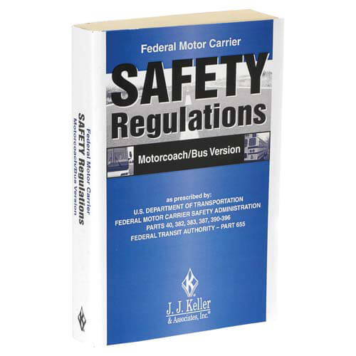Federal Motor Carrier Safety Regulations Pocketbook - Motorcoach/Bus Version (01594)