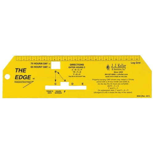 """The Edge"" Professional Driver's Ruler (01147)"