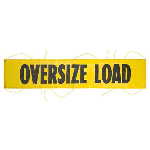 Mesh Oversize Load Banner w/ Grommets for Ropes (01461)