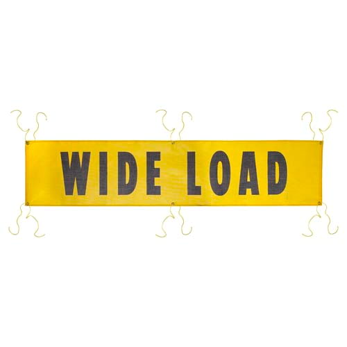 Mesh Wide Load Banner w/ Grommets for Ropes (01462)