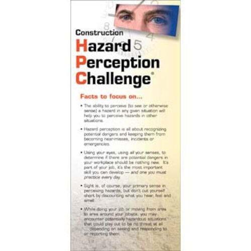 Construction Hazard Perception Challenge® Training Program - Skill Cards (00339)