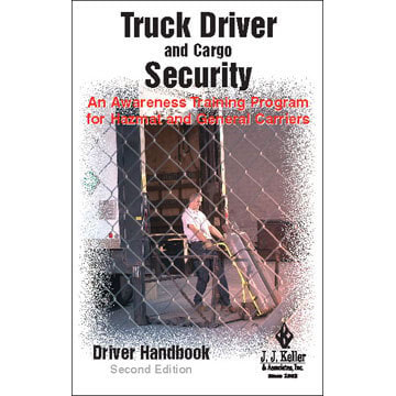 Truck Driver and Cargo Security - Driver Handbook (00463)