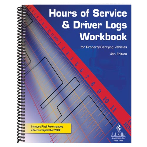 Hours of Service and Driver Logs Workbook, 4th Edition (01928)