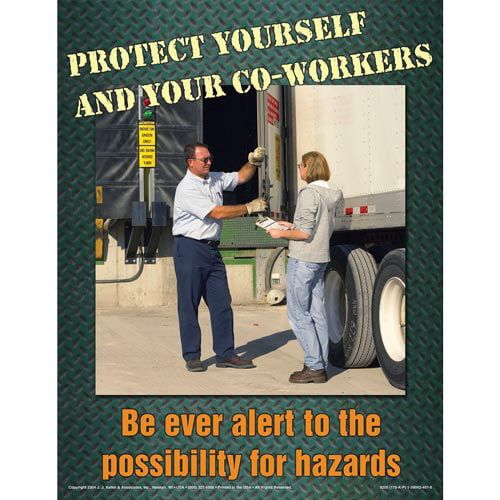 Loading Dock and Warehouse Safety - The Ins and Outs Training Program - Awareness Poster (00380)