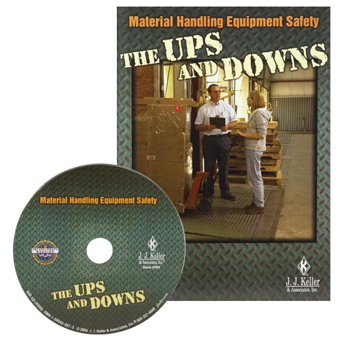 Material Handling Equipment Safety - The Ups and Downs - DVD Training (00383)