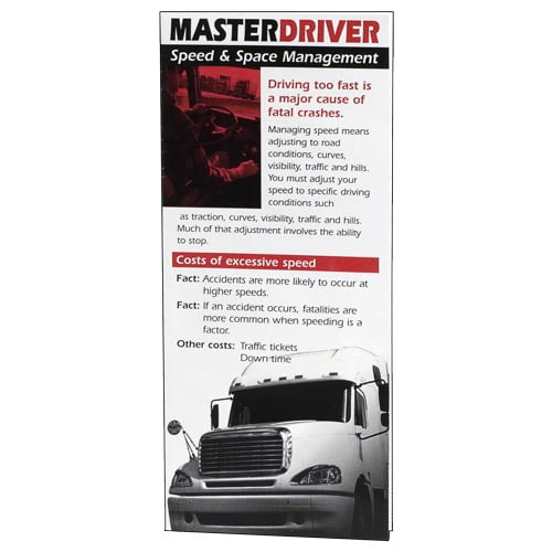 Master Driver: Speed & Space Management - Driver Skills Cards (01242)