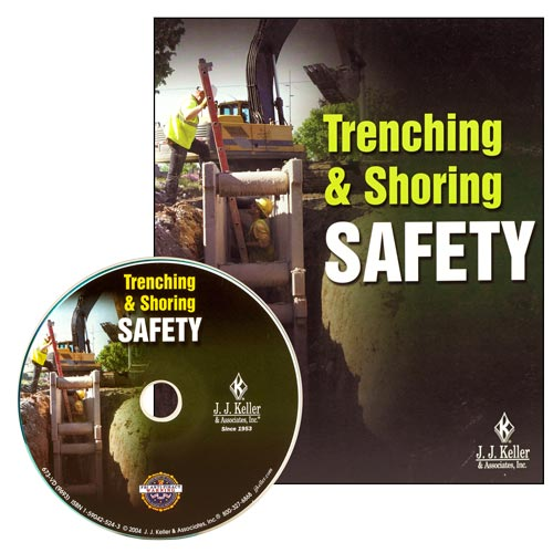 Trenching & Shoring Safety - DVD Training (02702)
