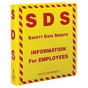 Safety Data Sheet Binder