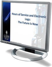 Hours of Service and Electronic Logs: The Future Is Now